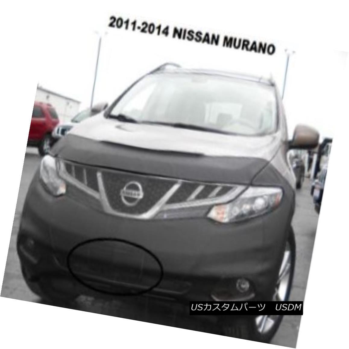 フルブラ ノーズブラ Lebra Front End Mask Cover Bra Fits 2011-2014 Nissan Murano 11-14 Lebraフロントエンドマスクカバーブラ2011-2014 Nissan Murano 11-14