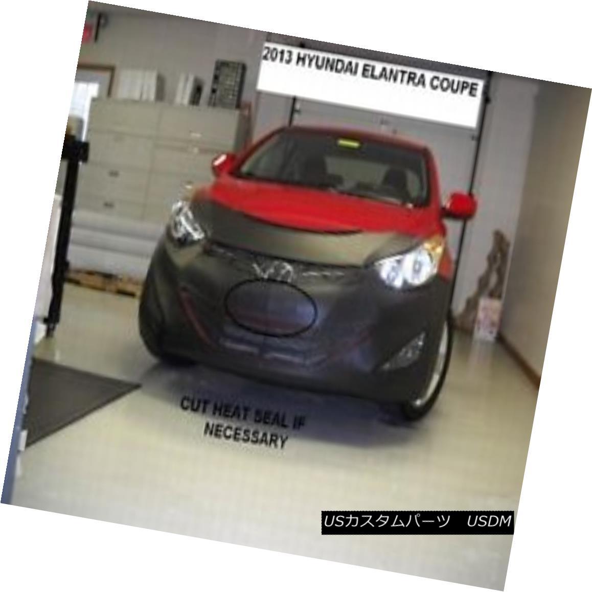 フルブラ ノーズブラ Lebra Front End Mask Cover Bra Fits 2014 14 Hyundai Elantra Coupe Lebraフロントエンドマスクカバーブラフィット2014 14 Hyundai Elantra Coupe