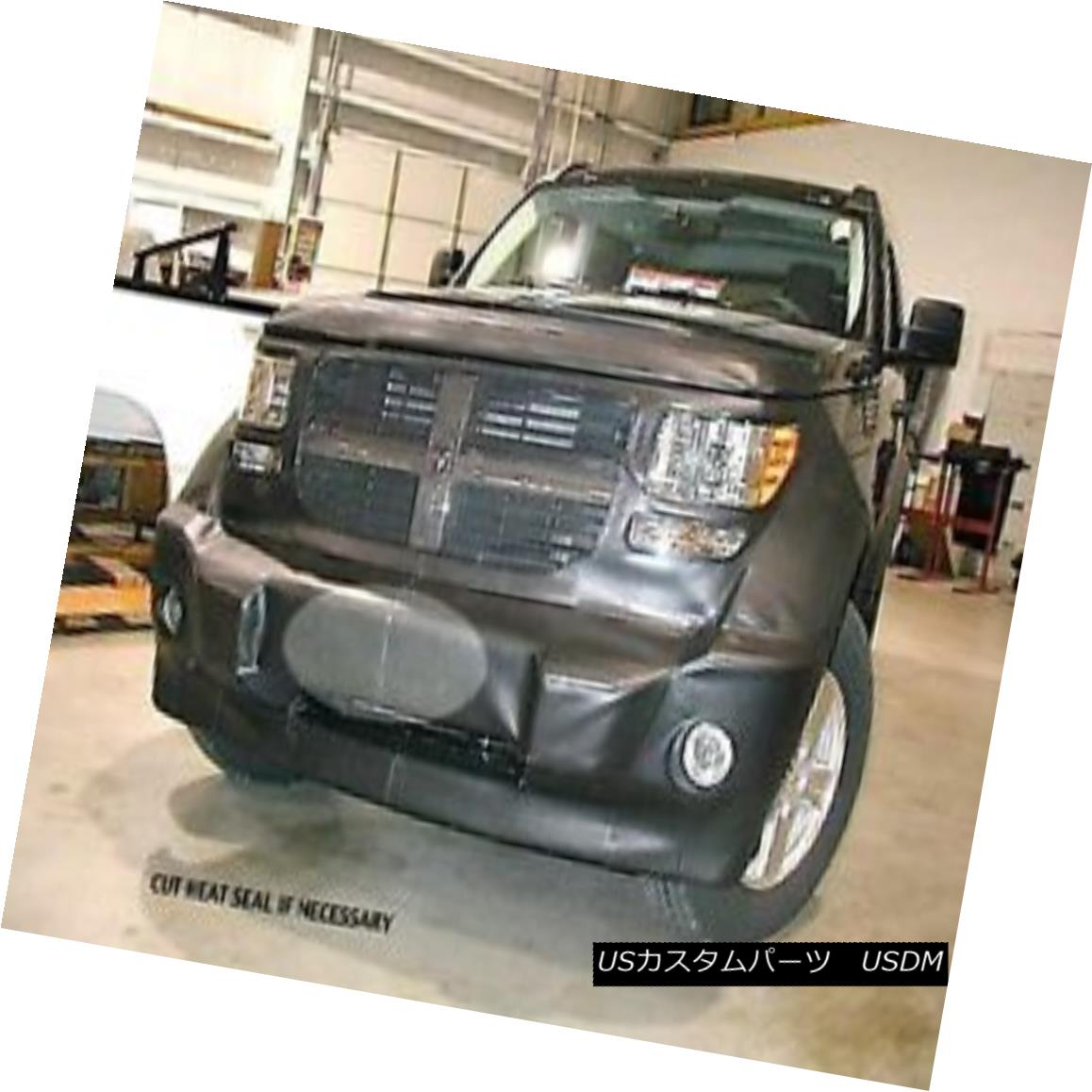フルブラ ノーズブラ Lebra Front End Mask Cover Bra Fits DODGE Ram 1500 2009 thru 2012 09 10 11 12 LebraフロントエンドマスクカバーブラはDODGE Ramに適合します2009年から2009年まで09 10 11 12