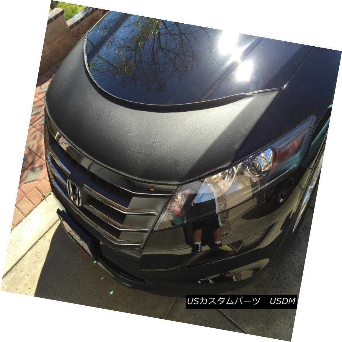 フルブラ ノーズブラ Lebra Hood Protector Mini Mask Bra Fits Honda Accord Crosstour 2010-2015 Lebra Hood ProtectorミニマスクブラはHonda Accord Crosstour 2010-2015に適合