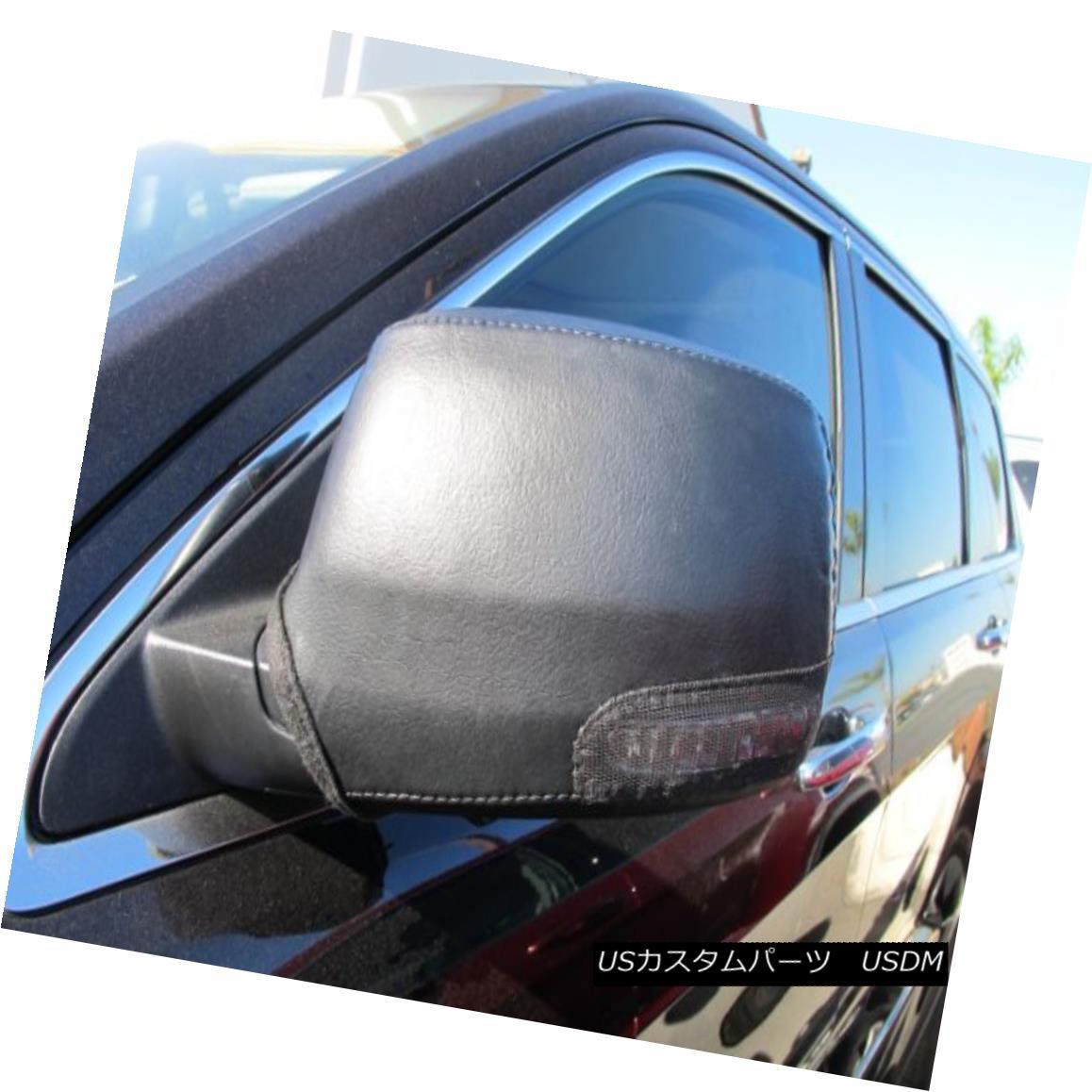 フルブラ ノーズブラ Colgan Car Mirror Covers Bra Protector Black Fits 11-12 Dodge Durango W/Signal コルガン車用ミラーカバーブラプロテクターブラック11-12ダッジドゥランゴW /シグナルに適合