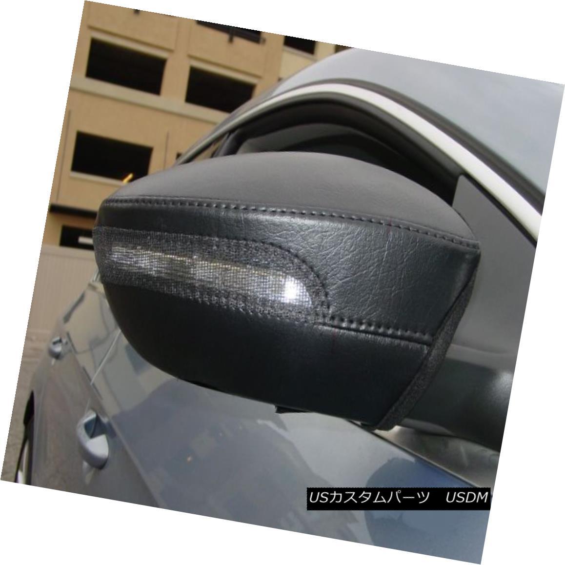 USフルブラ・USノーズブラ Colgan Car Mirror Covers Bra Black Fits 2012-2013 Volkswagen GTi w/ Signal Light コルガン車のミラーカバーブラブラックは2012年から2013年にフィットフォルクスワーゲンGTiシグナルライト
