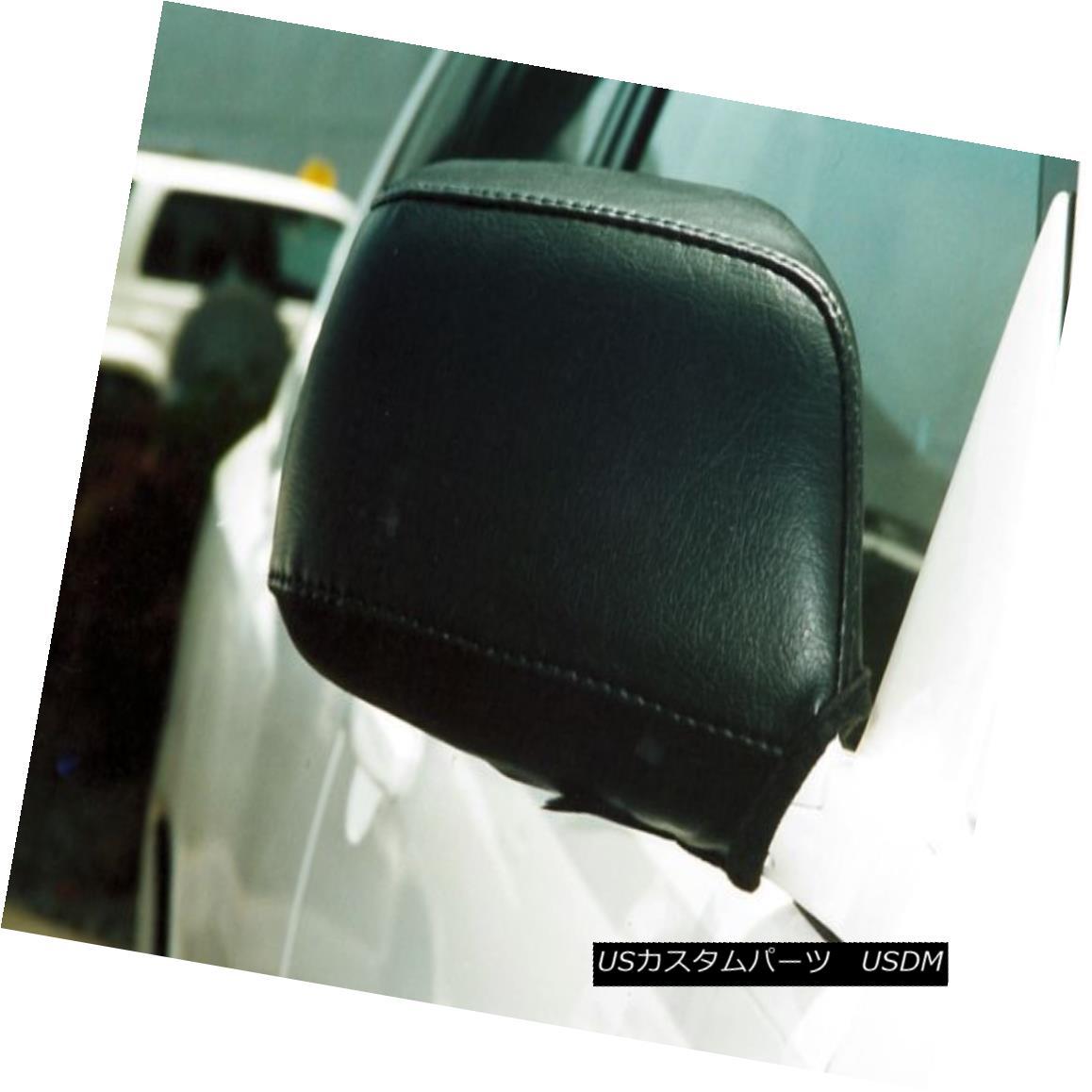 フルブラ ノーズブラ Colgan Car Mirror Covers Bra Black Fits 2004-2007 Toyota Highlander コルガン車のミラーカバーブラブラックは2004-2007年に適合トヨタハイランダー