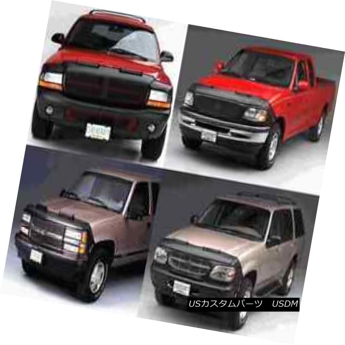 フルブラ ノーズブラ Lebra Front End Mask Cover Bra Fits 2002-2003 02 03 Mazda MPV With GFX Package Lebraフロントエンドマスクカバーブラは2002-2003に適合02 03 GFXパッケージ付きマツダMPV