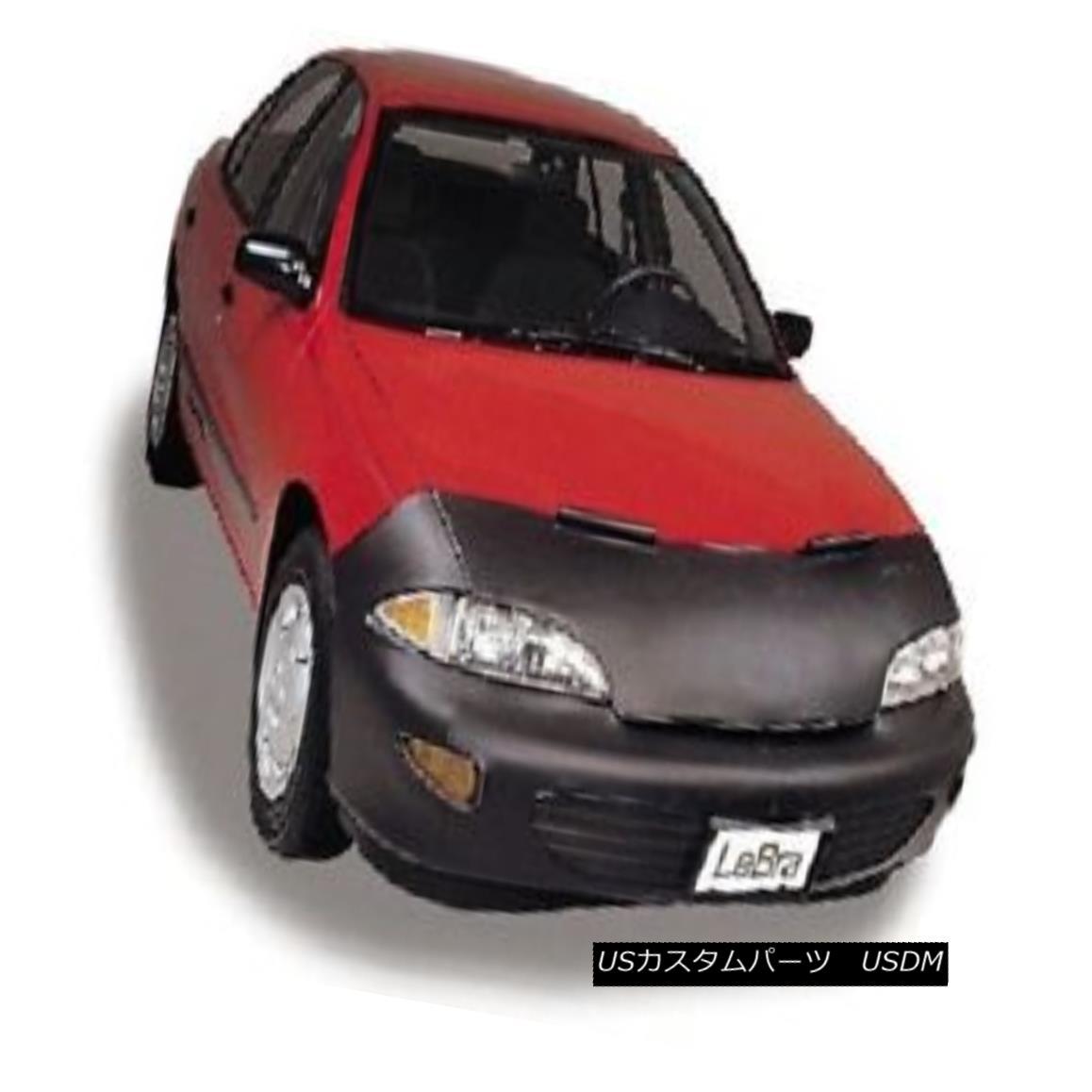 フルブラ ノーズブラ Lebra Front End Mask Cover Bra Fits 1992-1993 Hyundai Elantra & GLS Lebraフロントエンドマスクカバーブラフィット1992-1993 Hyundai Elantra& GLS