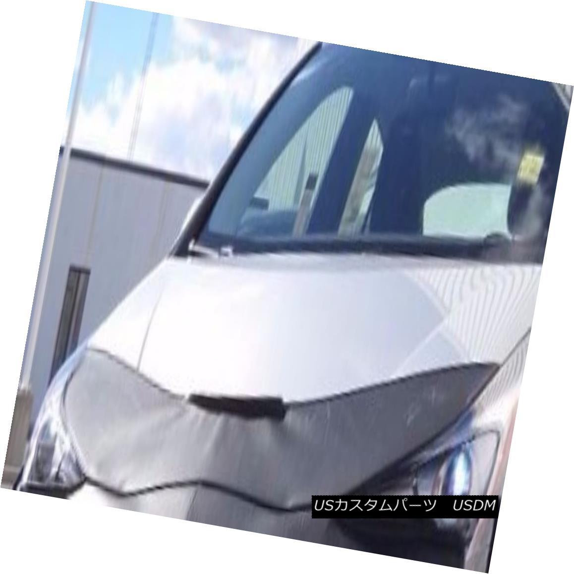 フルブラ ノーズブラ Lebra Hood Protector Mini Mask Bra Fits Toyota Prius 2016-2017 レブラフードプロテクターミニマスクブラはトヨタプリウス2016-2017に適合