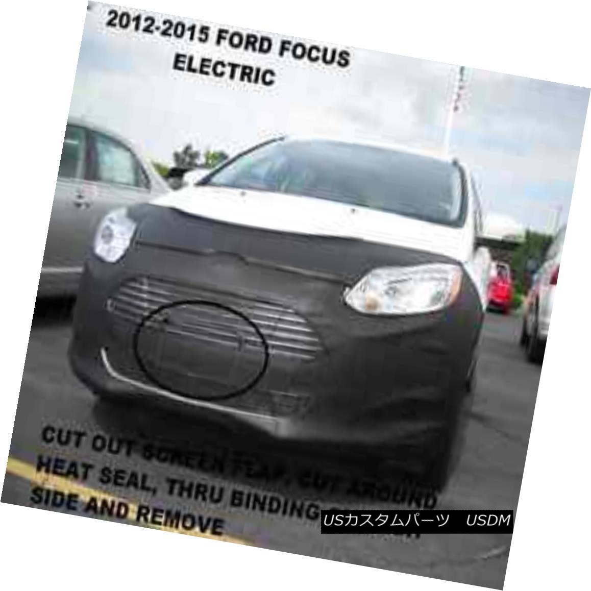 フルブラ ノーズブラ Lebra Front End Mask Cover Bra Fits 2012-2018 Ford Focus Electric Lebraフロントエンドマスクカバーブラフィット2012-2018 Ford Focus Electric