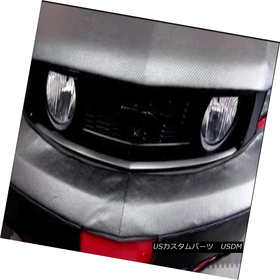 フルブラ ノーズブラ Colgan CF Front End Mask Bra 2pc. Fits Cadillac CTS-V Only 2008-2012 W/ Plate コルガンCFフロントエンドマスクブラ2pc。 Cadillac CTS-Vのみ2008-2012 W / Plateに適合