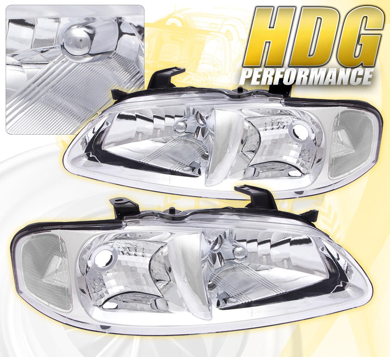 コーナーライト FOR 00-03 SENTRA REPLACEMENT DRIVING HEAD LIGHTS LAMPS PAIR ASSEMBLY UNIT CHROME 00?03センタの交換用ヘッドライトランプペア組立ユニットクローム用