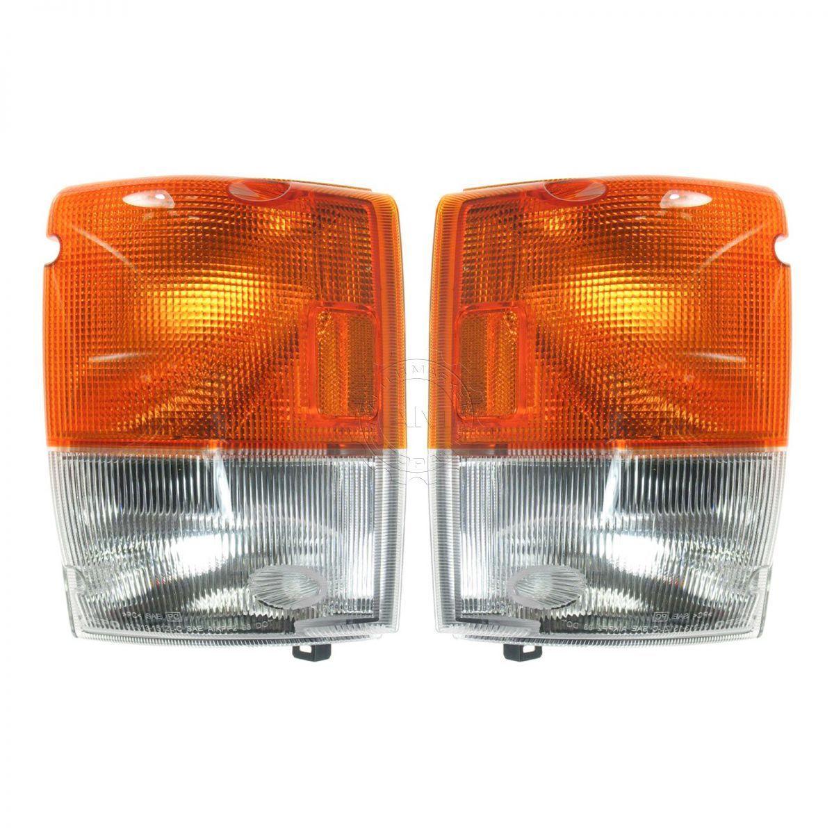 コーナーライト Side Corner Parking Light Left/Right Pair Set for GMC Isuzu GMCいすゞのサイドコーナーパーキングライト左/右ペア