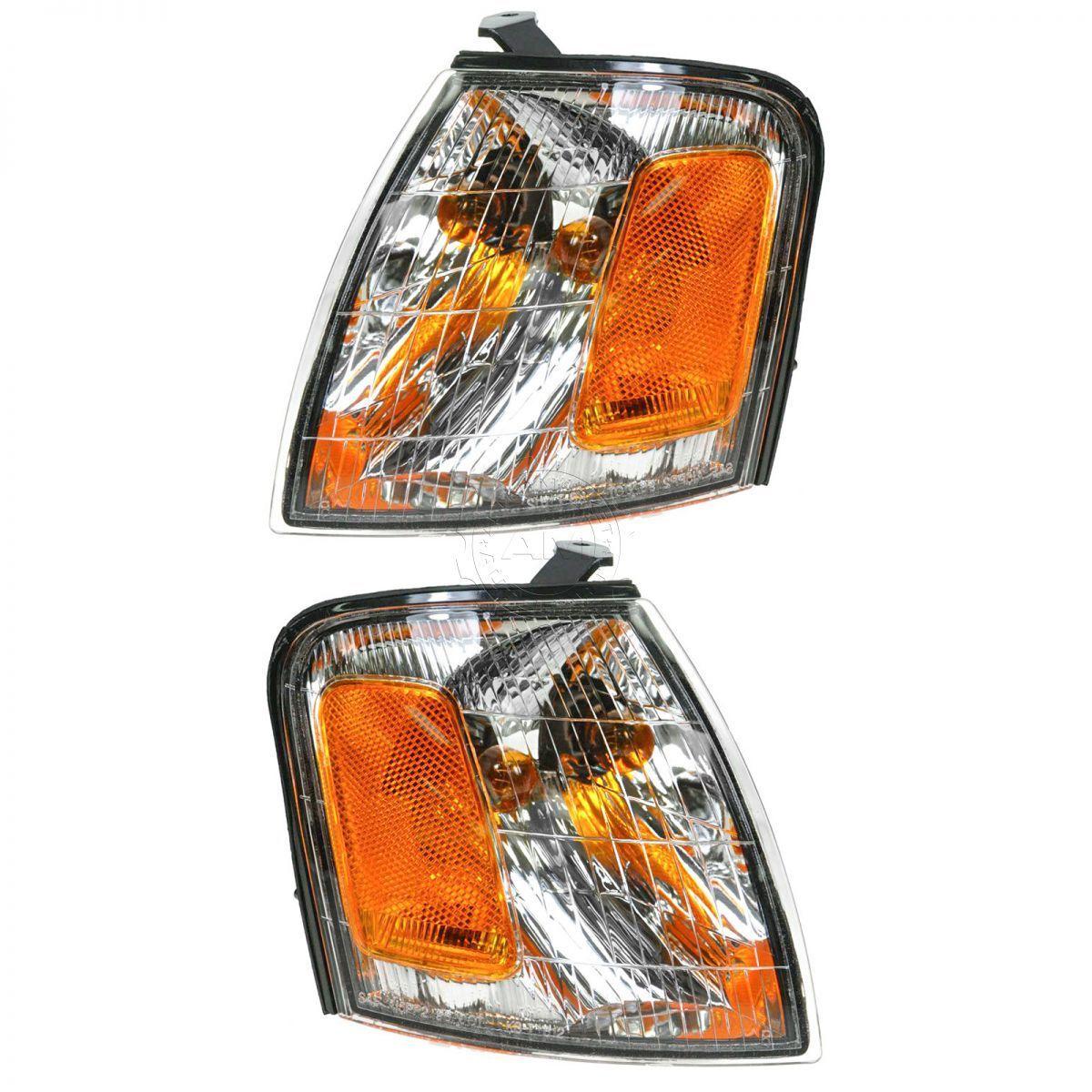 コーナーライト Side Marker Parking Turn Signal Corner Lights Pair Set NEW for 98-99 Avalon サイドマーカーパーキングターンシグナルコーナーライトペアセットNEW for 98-99 Avalon