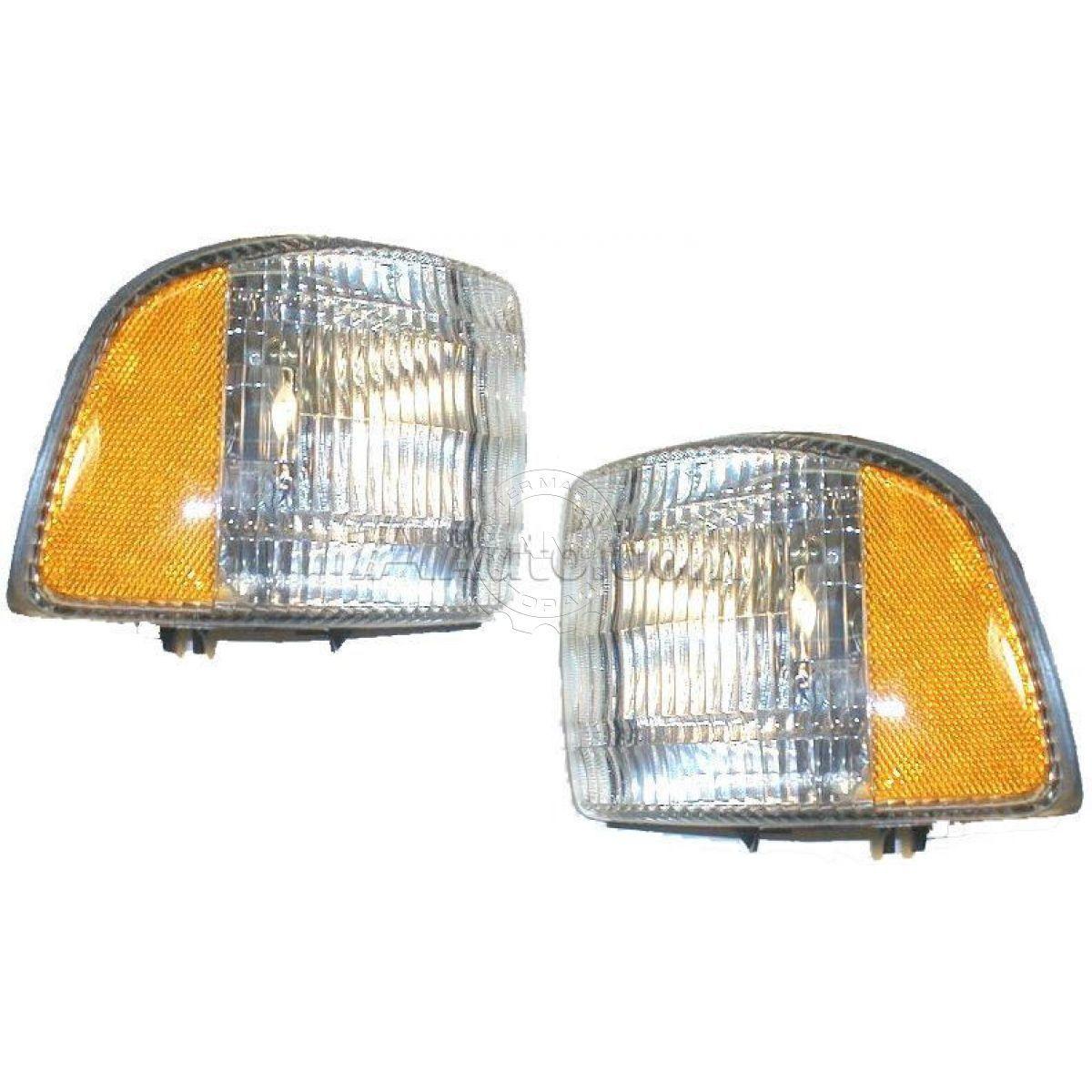 コーナーライト Corner Parking Marker Light LH RH Pair Set for Dodge Ram 1500 2500 3500 コーナーパーキングマーカーライトLH RHペアドッジラム用セット1500 2500 3500