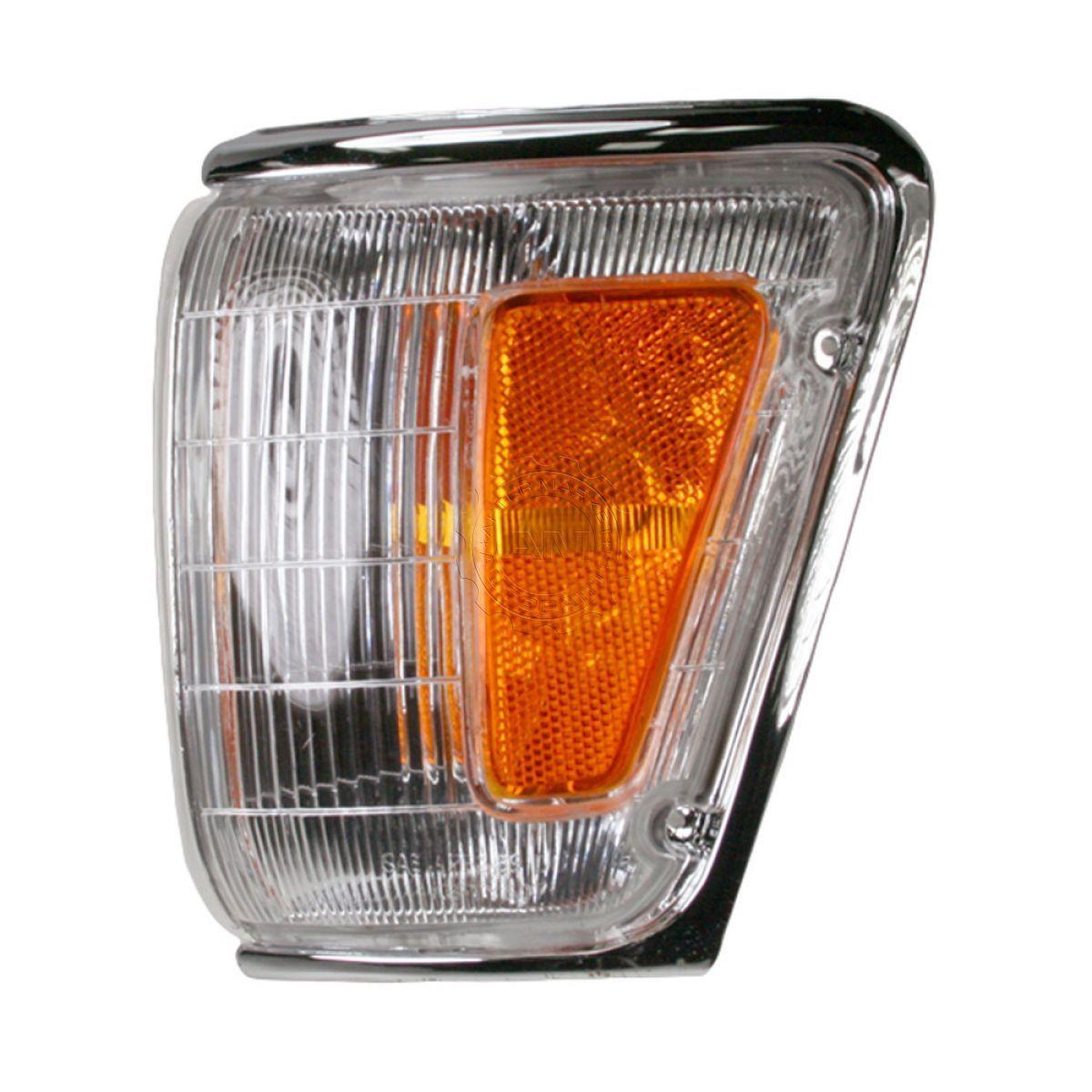 コーナーライト Chrome Corner Light LH Left for 89-91 Toyota PU 90-91 4Runner クロムコーナーライトLH 89-91トヨタPU 90-91 4Runnerのために左