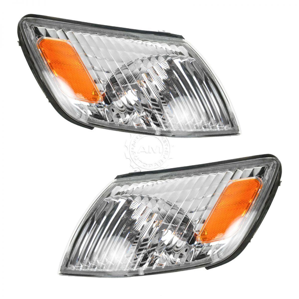 コーナーライト Corner Parking Marker Light Lamp Pair Set Kit LH & RH for 00-01 Lexus ES300 コーナーパーキングマーカライトランプペアセットキットLH& 00?01レクサスES300のRH