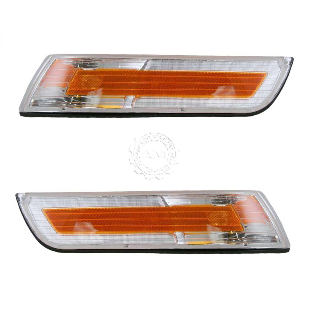 コーナーライト Side Marker Light Pair for Mercury Grand Marquis 95 96 97 マーキュリーグランドマーキスのサイドマーカーライトペア95 96 97
