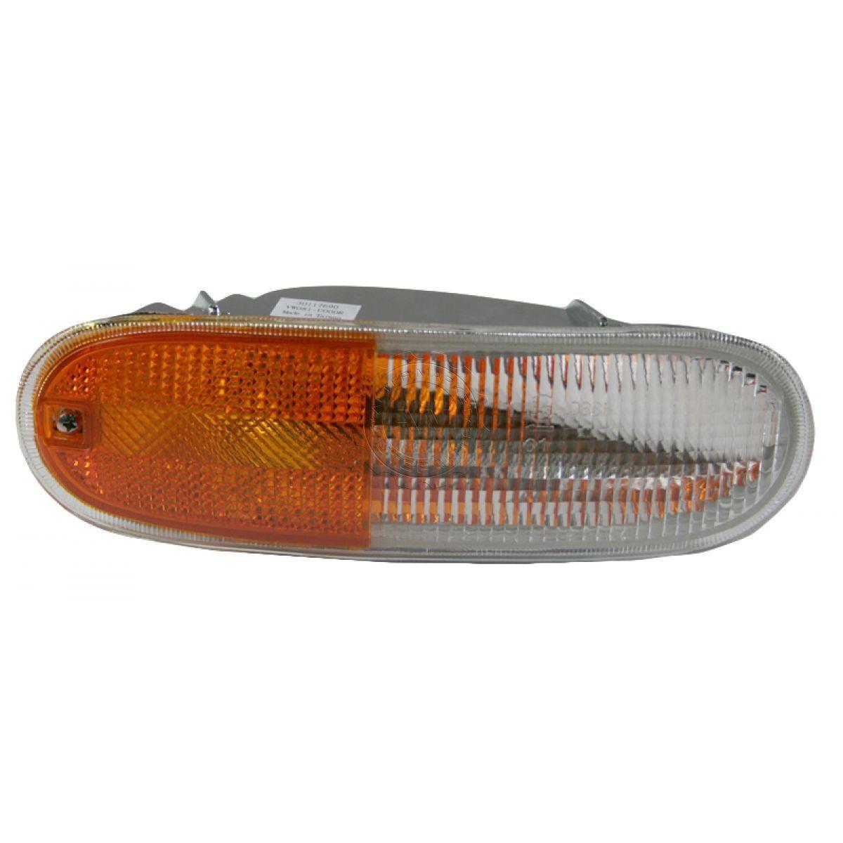 コーナーライト Turn Signal Marker Corner Light Right Passenger Side for 98-01 Volkswagen Beetle 98-01フォルクスワーゲンビートル用の信号マーカーコーナーライト右の乗客側