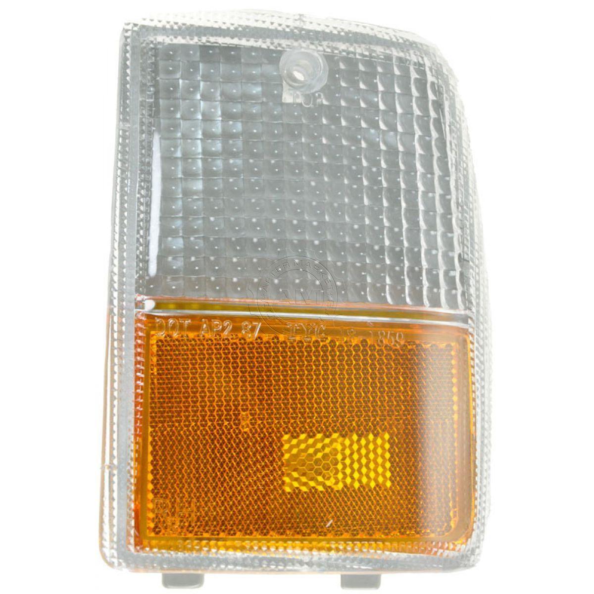 コーナーライト Side Marker Parking Turn Signal Corner Light Lamp Right for 87-90 Chevy Caprice サイドマーカーパーキングターンシグナルコーナーライトライト(87-90シボレーカプリス用)