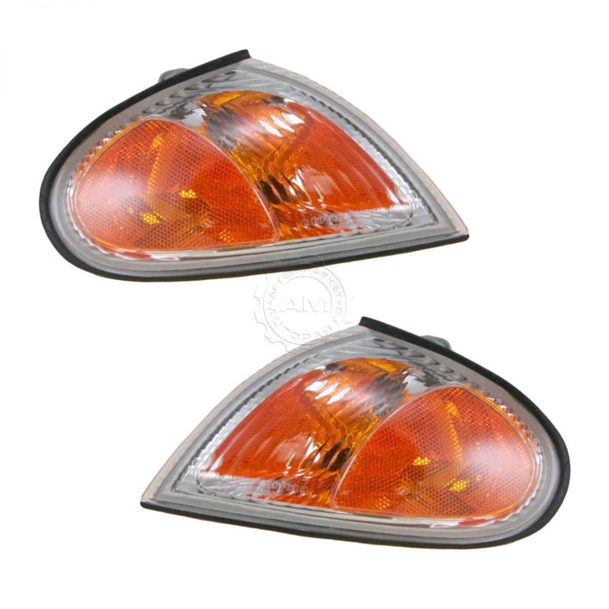 美しい コーナーライト Side Corner Parking Light Lamp Pair Set of 2 for 99-00 Hyundai Elantra 99-00 Hyundai Elantraのためのサイドコーナーパーキングライトランプペア2個セット, RESIST 4e0f09c0