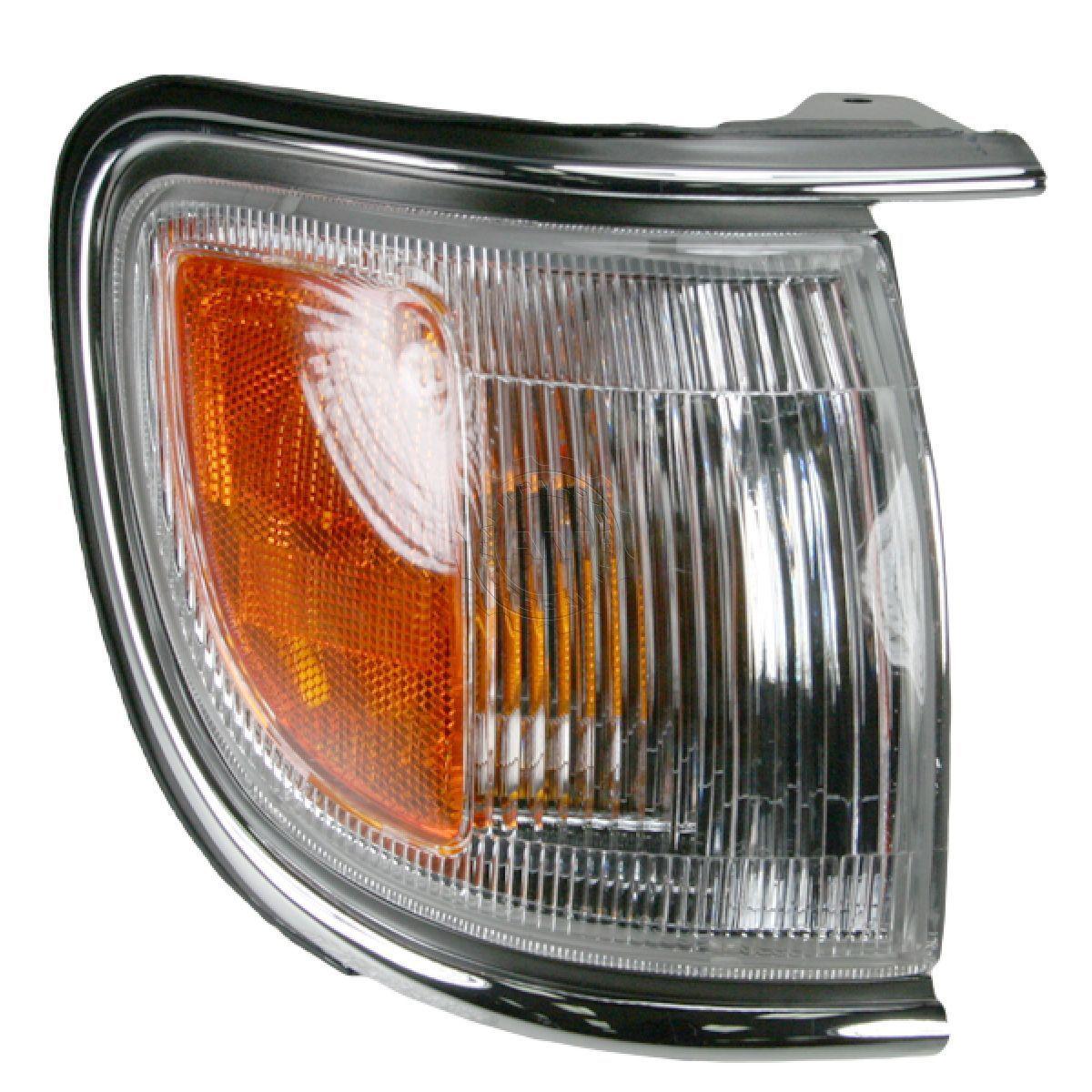 USコーナーライト Chrome Corner Parking Marker Turn Lamp Light Right Side For 96-99 Pathfinder クロークコーナーパーキングマーカーは、96-99パスファインダーのためにランプライトの右側を回します