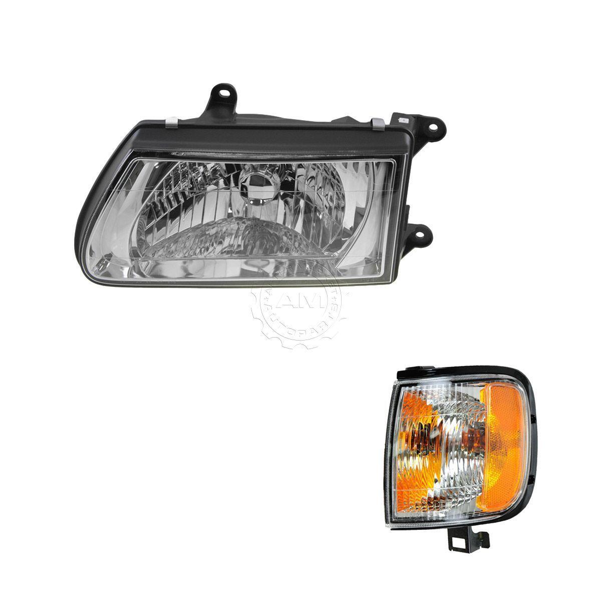 コーナーライト Headlight Corner Light Lamp Kit LH Driver Side for 00-02 Isuzu Rodeo ヘッドライトコーナーライトランプキットLHドライバーサイド00-02いすゞロデオ用