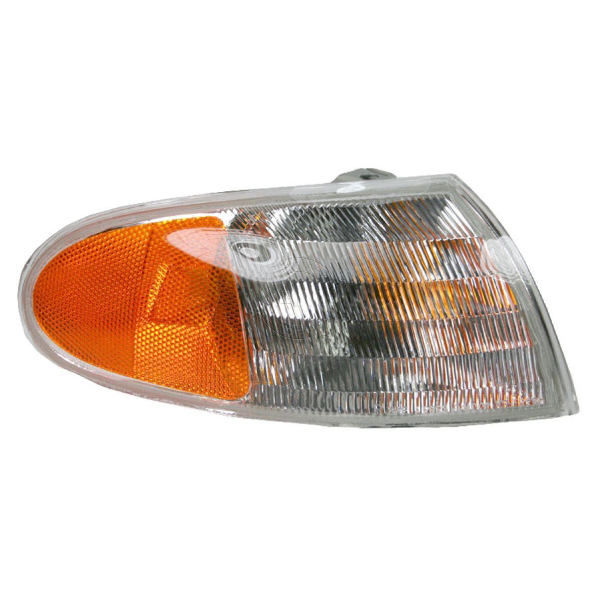 コーナーライト Side Corner Parking Turn Signal Light Passenger Right RH for 95-97 Ford Contour 95-97 Ford Contour用のサイドコーナーパーキングターン信号ライト