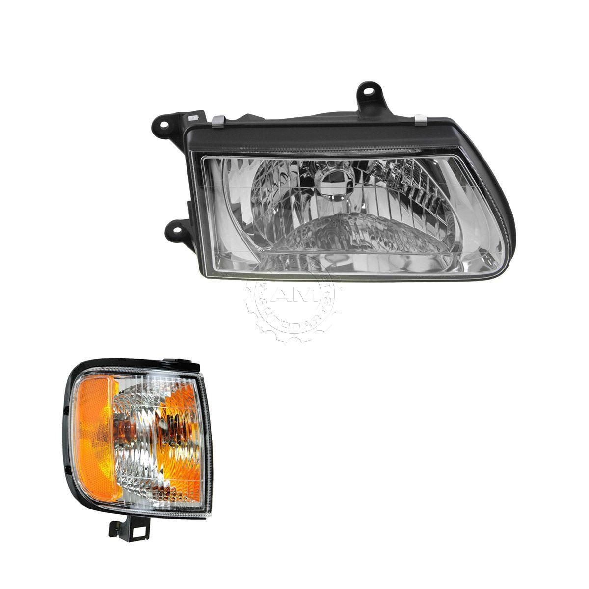 コーナーライト Headlight Corner Light Lamp Kit RH Right Passenger Side for 00-02 Isuzu Rodeo ヘッドライトコーナーライトランプキットRH右乗客側00-02いすゞロデオ