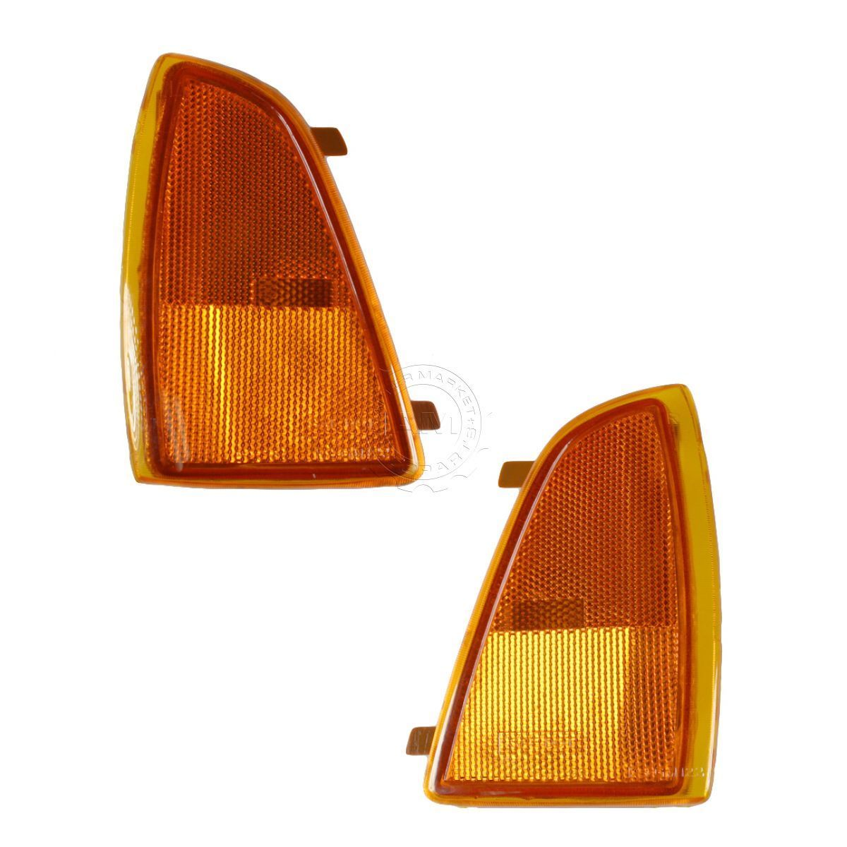 コーナーライト Marker Signal Corner Parking Light Pair Set for 95-97 Blazer Pickup Truck S10 95-97 Blazer Pickup Truck S10用マーキング信号コーナーパーキングライトペア