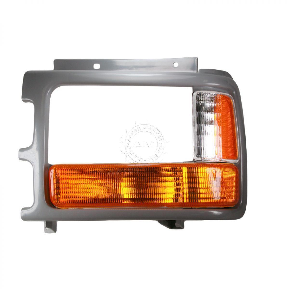コーナーライト Corner Parking Light w/ Bezel Trim Left LH for 91-96 Dakota コーナーパーキングライト(91-96 Dakota用ベゼルトリム左LH)