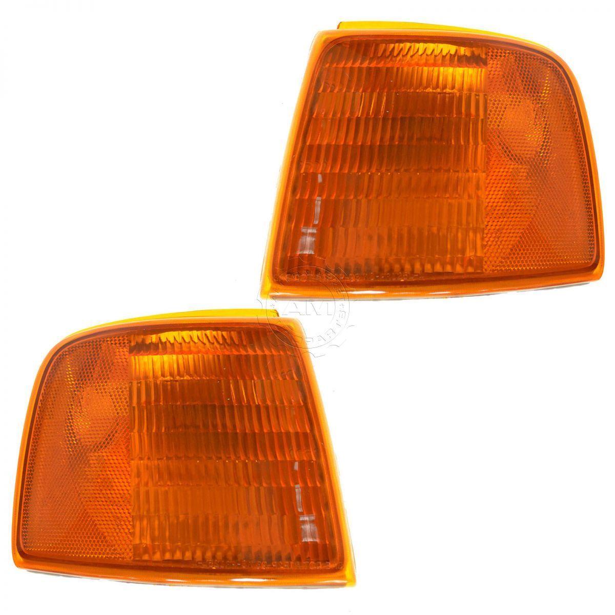 コーナーライト Corner Parking Turn Signal Light Lamp Left & Right Pair Set for 93-97 Ranger コーナーパーキングターンシグナルライトランプ左& 93-97レンジャーの右ペアセット