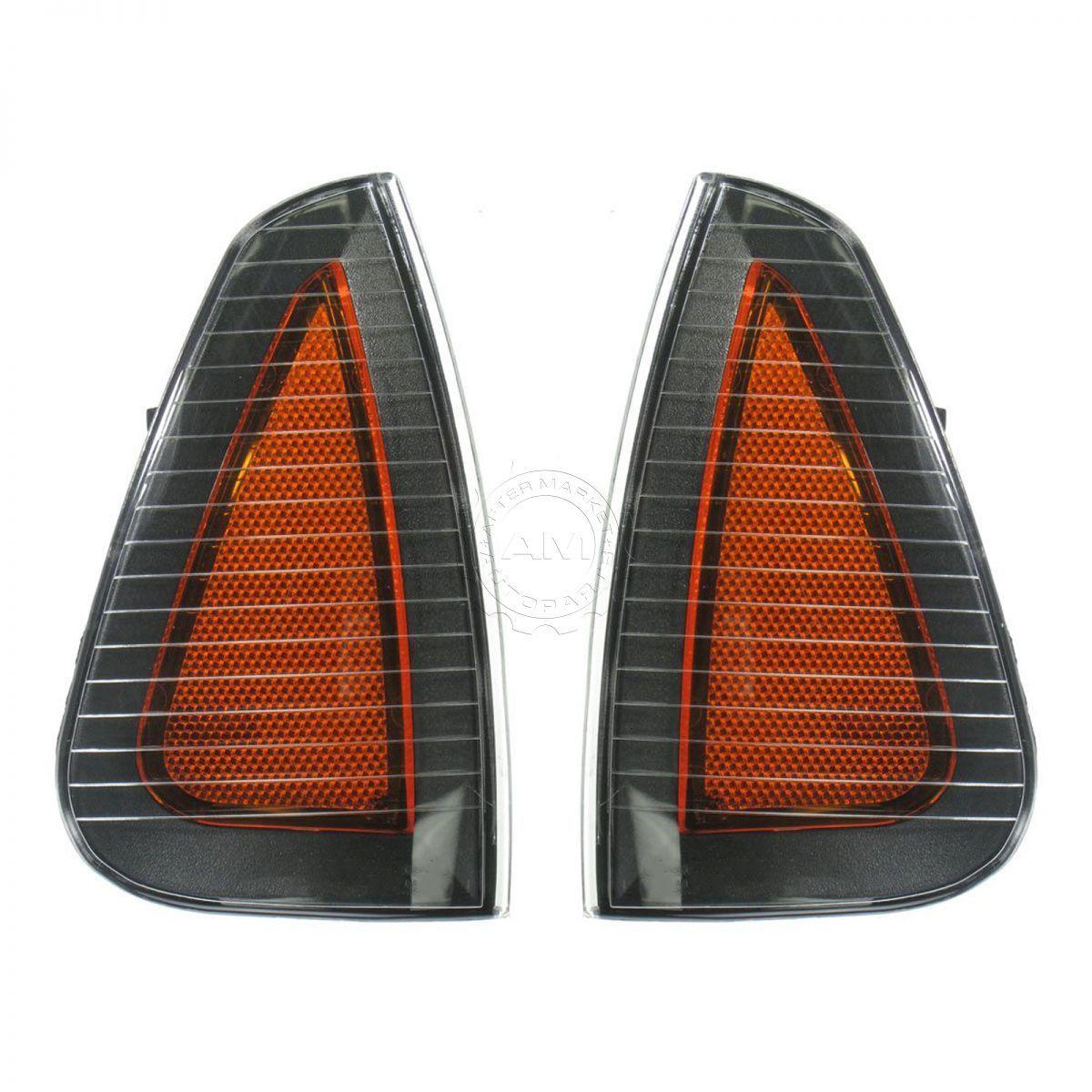 コーナーライト Side Marker Parking Turn Signal Corner Lights Pair Set NEW for 06-10 Charger サイドマーカーパーキングターンシグナルコーナーライトペアセット06-10チャージャー用NEW
