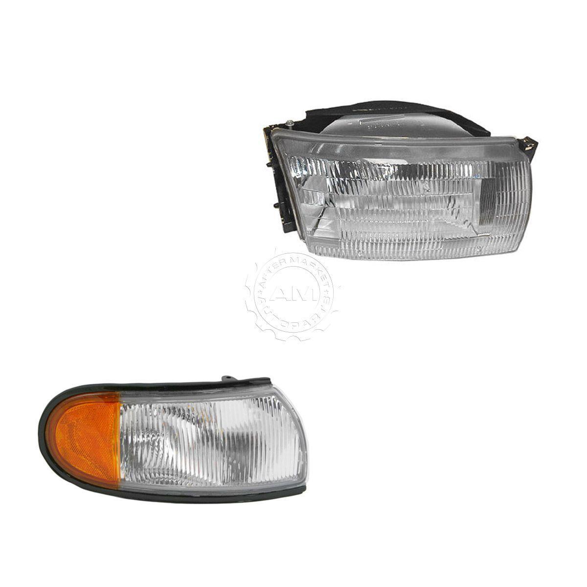 コーナーライト Headlight Corner Light Lamp Kit RH Right Passenger Side for 93-95 Villager Quest ヘッドライトコーナーライトランプキットRH 93-95ビレッジクエストの右側乗員側