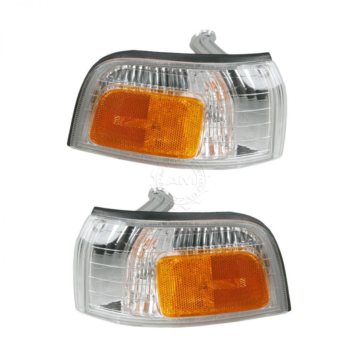 コーナーライト Side Marker Parking Turn Signal Corner Lights Pair Set for 90-91 Honda Accord サイドマーカーパーキングターンシグナルコーナーライトペア90-91ホンダアコード