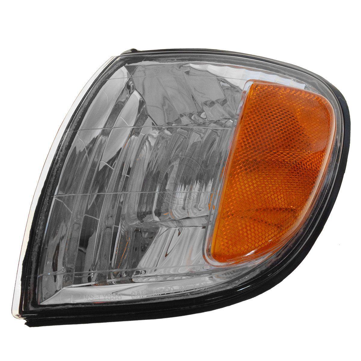 コーナーライト Corner Parking Turn Signal Light Lamp Driver Side Left LH for 00-04 Tundra Truck コーナーパーキングターンシグナルライトランプドライバーサイド左LH 00?04トンドラトラック