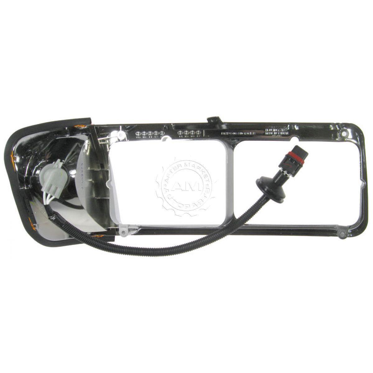 Chrome Inner Headlamp Headlight Bezel Right RH Passenger for FLD 112 120
