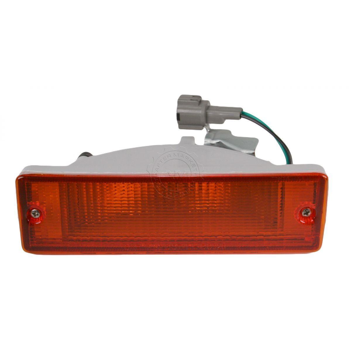 コーナーライト Bumper Mounted Parking Light LH Left For D21 Pathfinder 1988-95 バンパー搭載駐車ライトLH左D21パスファインダー1988-95