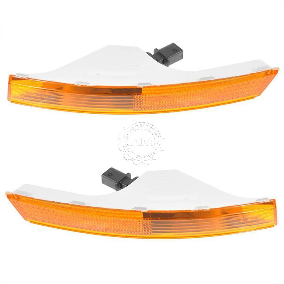 コーナーライト Parking Turn Signal Light Lamp Pair Set for 06-10 VW Passat 駐車ターンシグナルライトランプペアは、06-10 VWパサートに設定