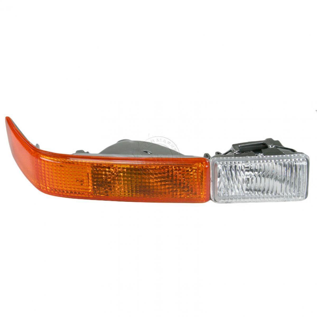 コーナーライト Front Side Marker Parking Signal w/ Fog Light Right RH for S10 Blazer S15 フロントサイドマーカーパーキング信号(フォグライト付き)RH RHブリーザーS15用