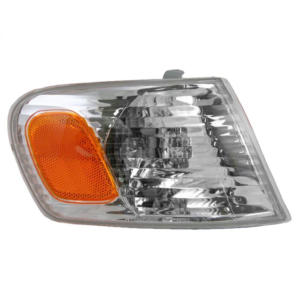 コーナーライト Corner Parking Turn Signal Light Lamp Passenger Side Right RH for 01-02 Corolla コーナーパーキングターンシグナルライトランプ乗客側右RH 01-02 Corolla