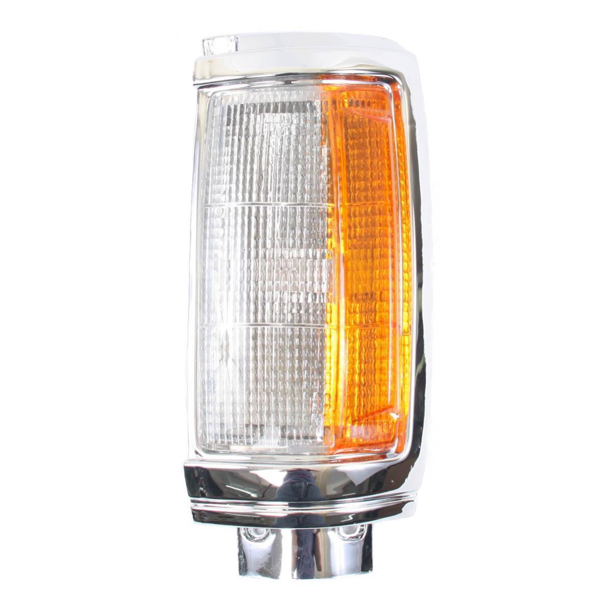 コーナーライト Corner Lights Lamp Chrome Left Fits Mitsubishi Cyclone Truck 1989-1995 Diamond コーナーライトランプクロム左フィット三菱サイクロントラック1989-1995ダイヤモンド