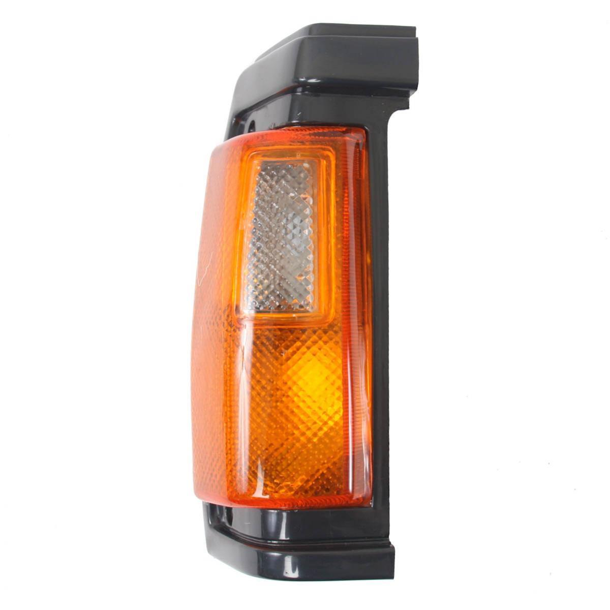 コーナーライト Corner Lights Lamp Black Right Fits Nissan Big-M Navara Pickup 1986-1990 Diamond コーナーライトランプブラック右フィット日産ビッグMナバラピックアップ1986-1990ダイヤモンド