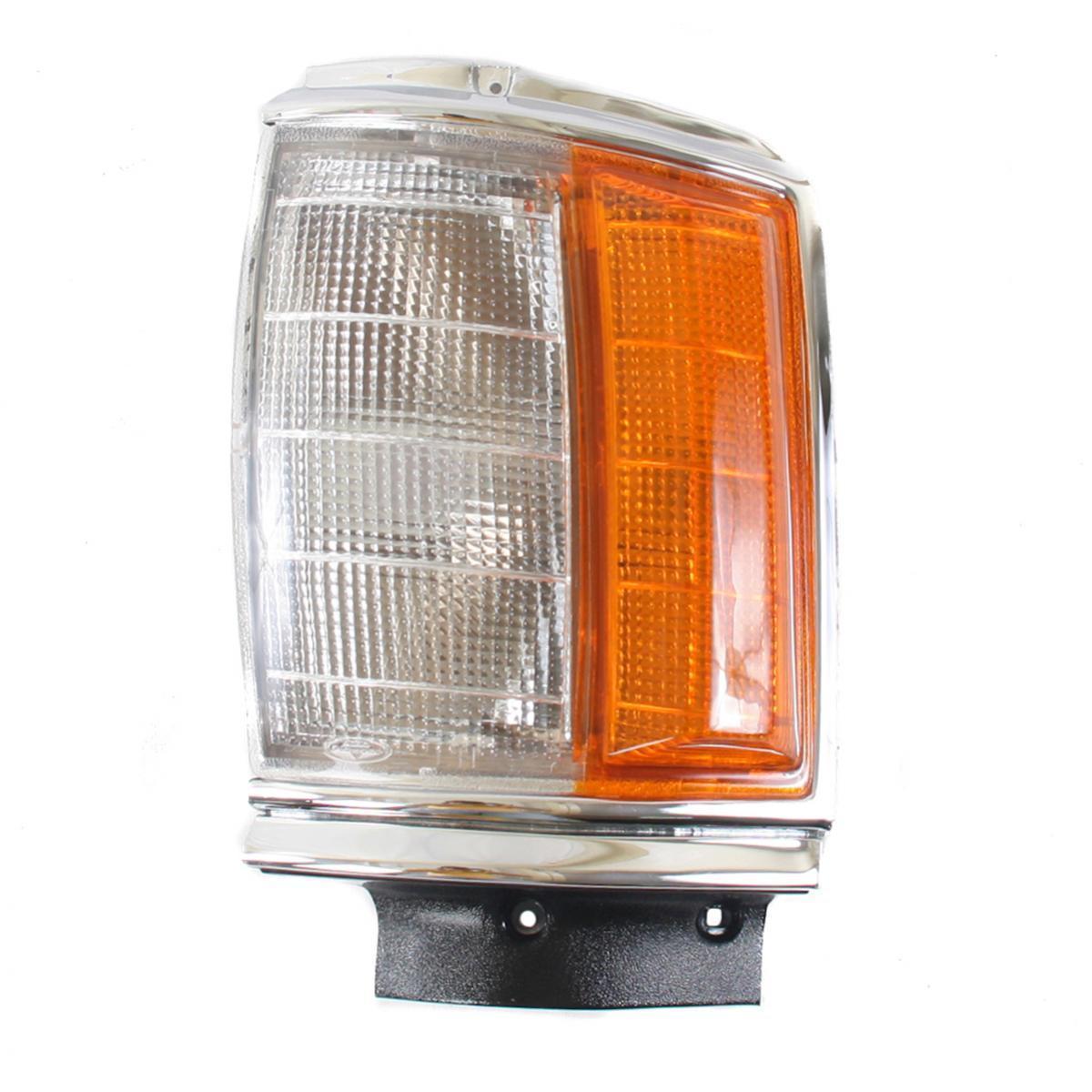 コーナーライト Corner Lights Lamp Cover LENS Left Fits Toyota Hilux Yn55R Pickup Truck 1984-198 コーナーライトランプカバーLENS左フィットトヨタハイラックスYn55Rピックアップトラック1984-198