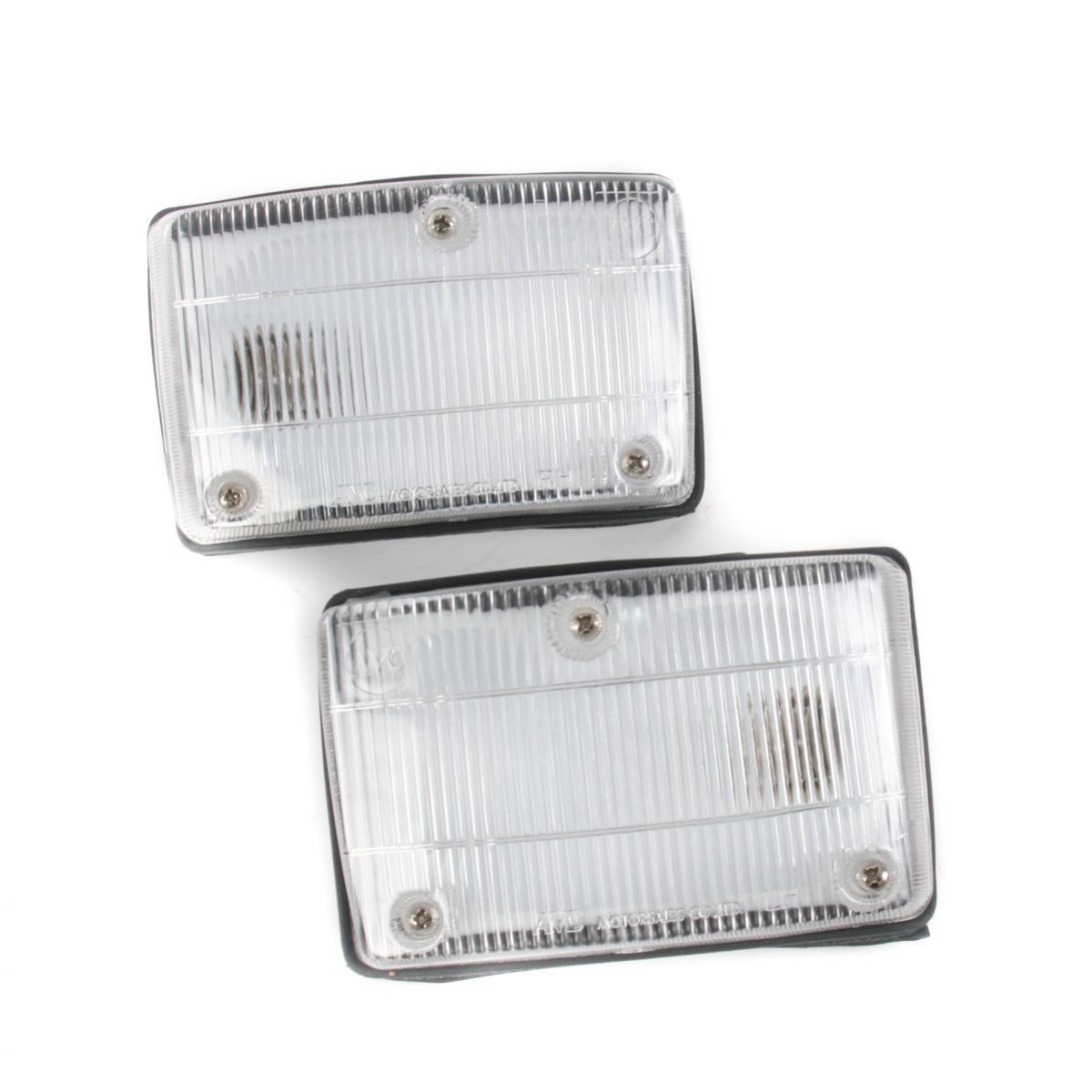 コーナーライト New Pair Front Corner Lights Signal Lamp Fits Hino SH FC144 MFG MBS 1985-1992 Hino SH FC144 MFG MBS 1985-1992に適合する新しいペアフロントコーナーライト信号ランプ
