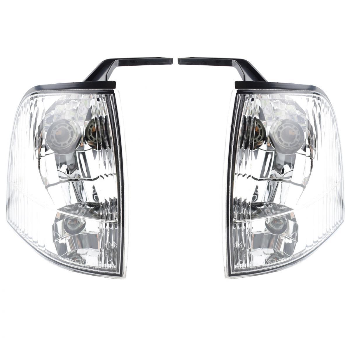 コーナーライト Pair Corner Lights Turn Lamp Fits Ford Ranger Utility Pickup Truck 2002-2005 New ペアコーナーライトターンランプフィットフォードレンジャーユーティリティピックアップトラック2002-2005新しい