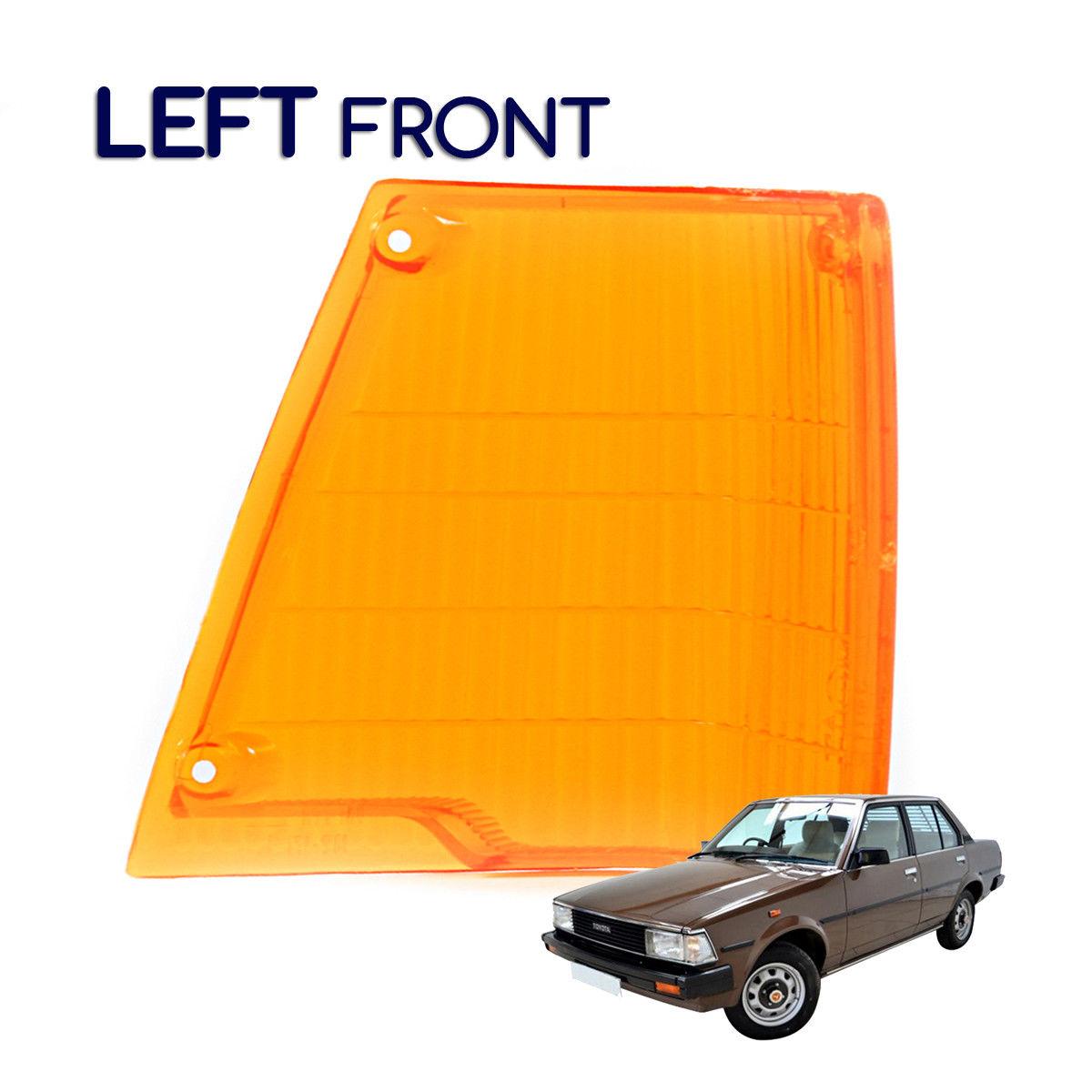 コーナーライト New Corner Light Amber LENS Left Fits Toyota Corolla Gl Ke70 Ke75 Te71 1979-1987 新しいコーナーライトアンバーLENS左フィットトヨタカローラG1 Ke70 Ke75 Te71 1979-1987