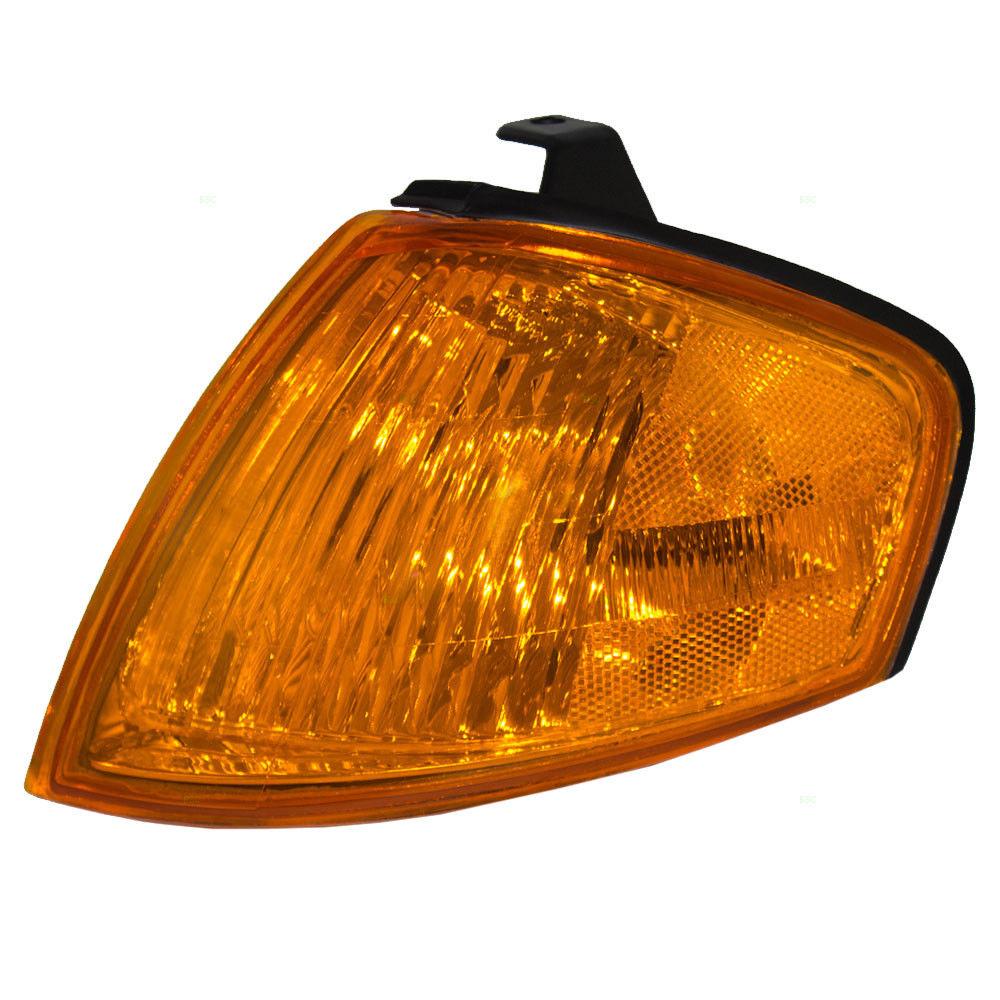 コーナーライト New Drivers Park Signal Corner Marker Light Lamp Assembly 99-00 Mazda Protege 新しいドライバーパーク信号コーナーマーカーライトランプアセンブリ99-00マツダプロテージュ