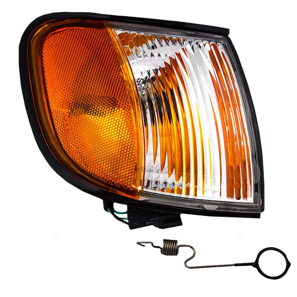 コーナーライト New Passengers Park Signal Corner Marker Light Lamp for 98-02 Kia Sportage 新しい乗客パーク信号コーナーマーカライトランプ98-02起亜Sportage用