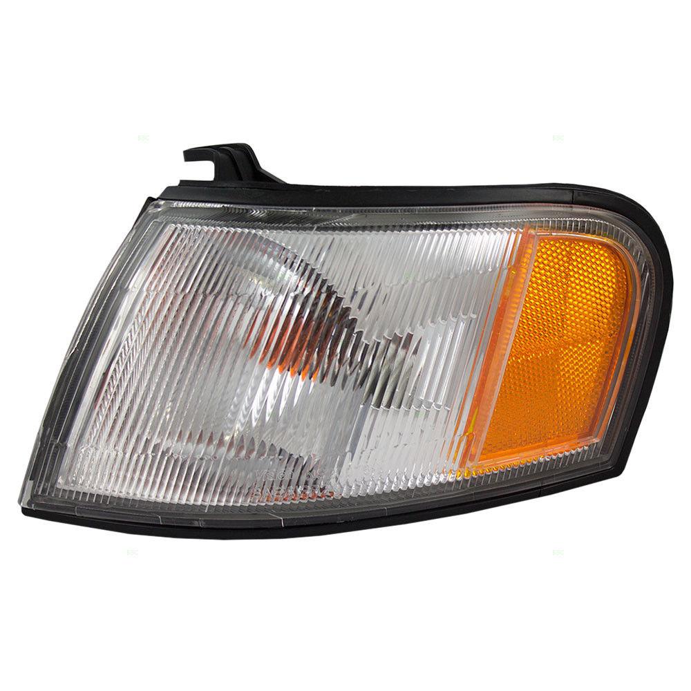 コーナーライト New Drivers Park Signal Corner Marker Light Lamp Lens for Nissan Sentra 200SX Nissan Sentra 200SXの新しいドライバパーク信号コーナーマーカーライトランプレンズ