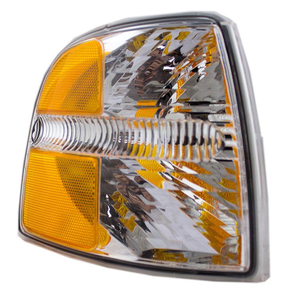 コーナーライト New Passengers Park Signal Corner Marker Light Lamp Assembly 02-05 Ford Explorer 新しい乗客パーク信号コーナーマーカーライトランプアセンブリ02-05 Ford Explorer