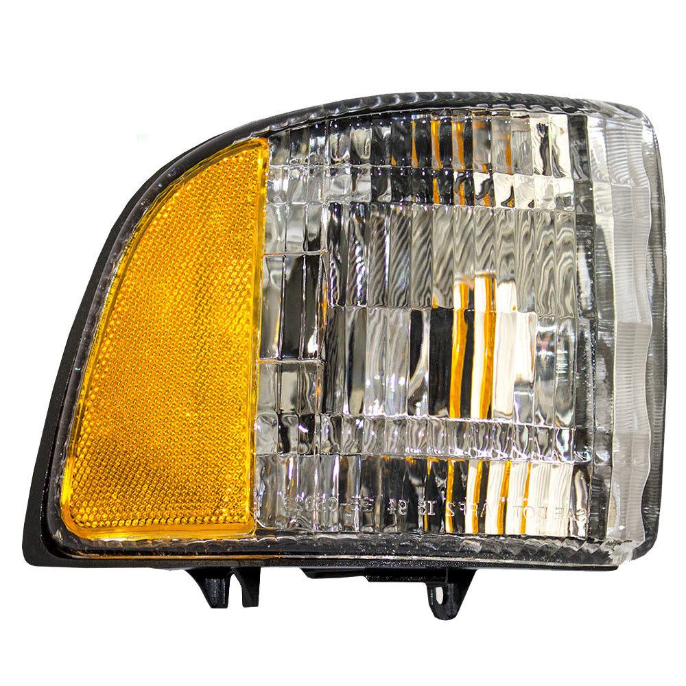 コーナーライト New Passengers Park Signal Corner Marker Light Housing 94-02 Dodge Pickup Truck 新しい乗客パーク信号コーナーマーカライトハウジング94-02ドッジピックアップトラック