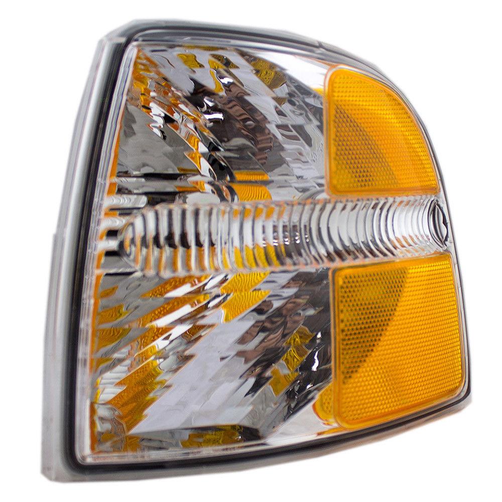 コーナーライト New Drivers Park Signal Corner Marker Light Lamp Assembly 02-05 Ford Explorer 新しいドライバパーク信号コーナーマーカーライトランプアセンブリ02-05 Ford Explorer